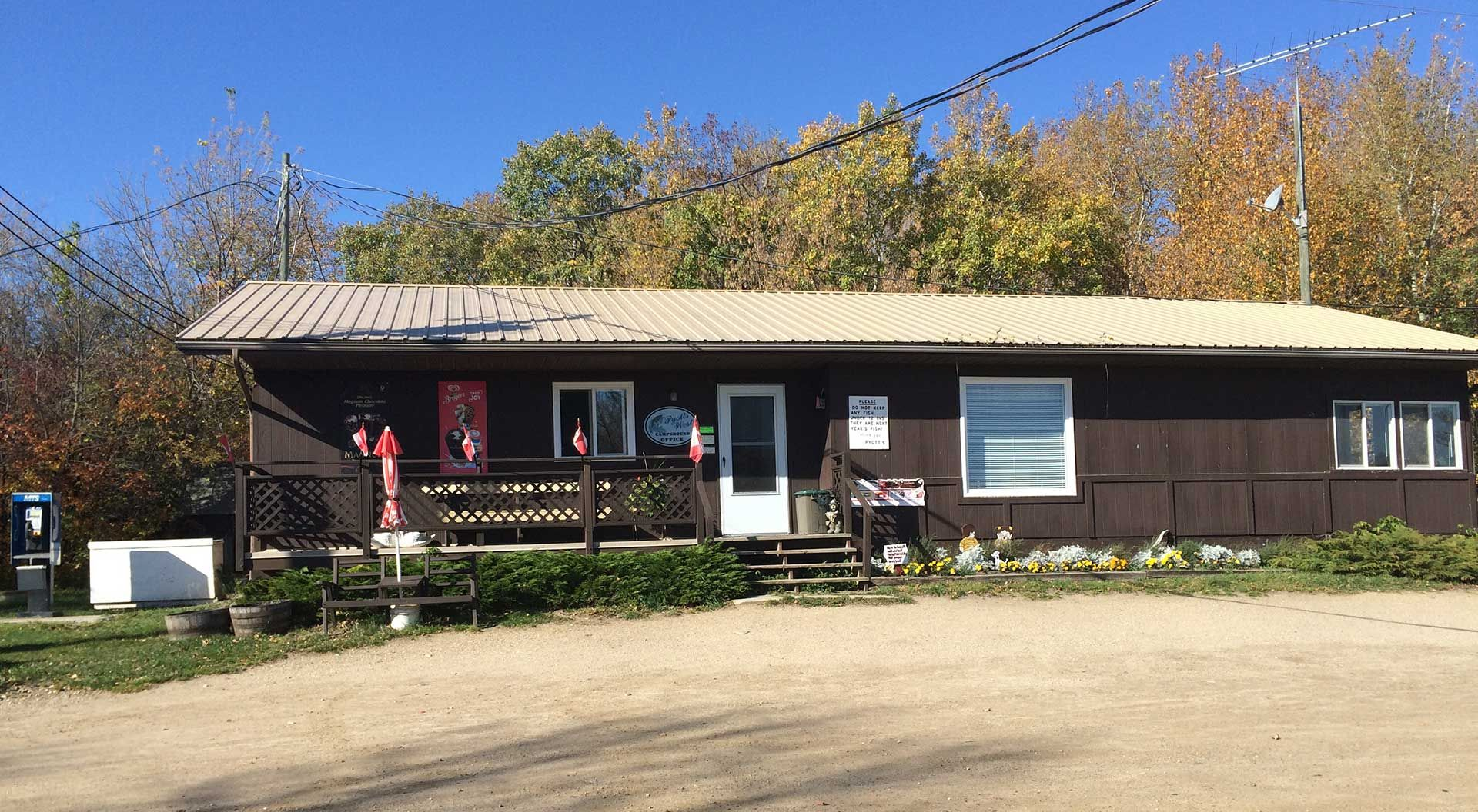 Pyotts West Campground - Your Manitoba camping & fishing destination